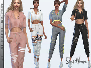 Sims 4 — Suit sport chic (top) by Sims_House — Suit sport chic (top) 6 options.