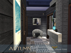 Sims 4 — Autumn Kiss - Please Enter by fredbrenny — It is a small but functional Entryway and belongs with all previous