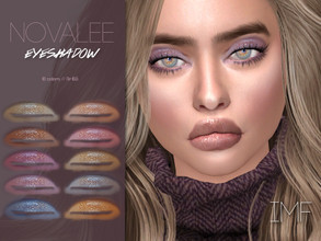Sims 4 — IMF Novalee Eyeshadow N.165 by IzzieMcFire — Novalee Eyeshadow N.165 contains 10 colors in hq texture.