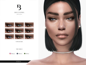 Sims 4 — Eyes N3 by Bill_Sims — All Ages, Female/Male HQ Mod Compatible 9 Swatches Costume Makeup CAS Thumbnails Included