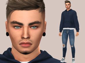 Sims 4 — Jacob Harris by MSQSIMS — Name : Jacob Harris Age : Young Adult Aspiration: Party Animal Traits: