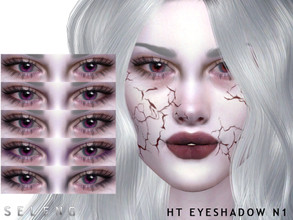 Sims 4 — HT Eyeshadow N1 by Seleng — Eyeshadow for female and male 7 colours Custom Thumbnail HQ Compatible Happy