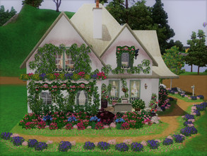 Sims 3 — Cottage of a Thousand Flowers by sgK452 — For this house I did not pay attention to the price, sorry, it is a
