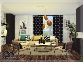 Sims 4 — BODRO- Livingroom by marychabb — Hi, this is my first room I put here. I hope you like it. The room includes: -