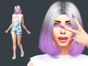 Sims 4 — Jenny Wilson by perelka8809 — Name: Jenny Wilson Age: Young Adult If you want sim like this, You need all CC