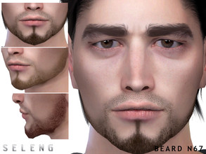 Sims 4 — Beard N67 by Seleng — Teen to Elder 10 colours Custom Thumbnail HQ mod compatible The picture was taken with HQ