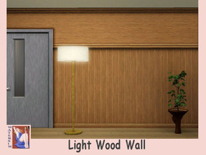 Sims 3 — ws LightWood Panel Wall by watersim44 — Creation for your wall. Color is LightWoodPanel Category: paneeling