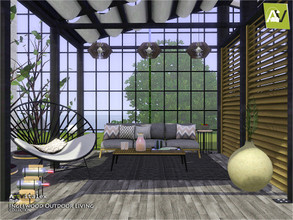 Sims 3 — Inglewood Outdoor Living by ArtVitalex — - Inglewood Outdoor Living - ArtVitalex@TSR, Dec 2020 - All objects are
