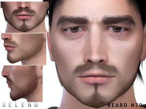 Sims 4 — Beard N70 by Seleng — Teen to Elder 10 colours Custom Thumbnail HQ mod compatible The picture was taken with HQ