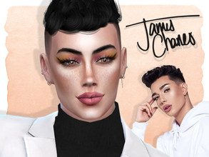 Sims 4 — James Charles by Jolea — This is my Celebrity inspired James Charles, hope you'll like it. If you want the Sim