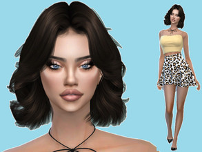 Sims 4 — Angelina Traylor by FemmeSimmer — Name: Angelina Traylor Age : Young Adult Aspiration: Traits: * Download all