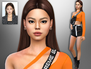 Sims 4 — Jennie Kim by divaka45 — Go to the tab Required to download the CC needed. DOWNLOAD EVERYTHING IF YOU WANT THE