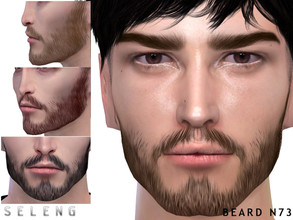 Sims 4 — Beard N73 by Seleng — Teen to Elder 10 colours Custom Thumbnail HQ mod compatible The picture was taken with HQ