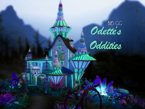 Sims 4 — Odette's Oddities by VirtualFairytales — The lumeric glow is almost hypnotic. You don't know what you need, but