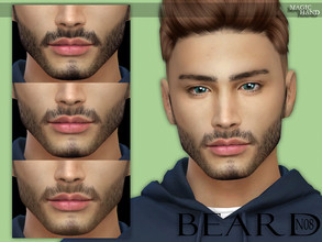 Sims 4 — [MH] Beard N08 by MagicHand — --12 colors-- --Compatible with HQ settings-- --CAS thumbnail-- Pictures taken