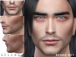 Sims 4 — Beard N51 by Seleng — Teen to Elder 10 colours Custom Thumbnail HQ mod compatible The picture was taken with HQ