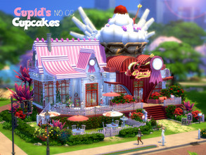 Sims 4 — Cupid's Cupcakes by VirtualFairytales — Mhmm - There is love in every bit of these tasty cream-dreams. Come and