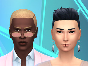 Sims 4 — Particular Eyebrows by Alifya2 — Hope you like em! Swatches: 18 EA colours Male and Female. Child to Elder.