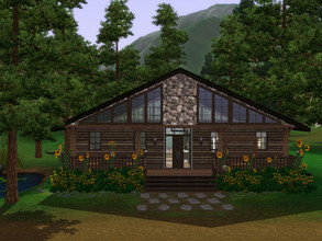 Sims 3 — Cabin Retreat by RomazingCreations — 1 BR/1 Bath - A handmade home with handmade furniture. Cabin for a nice