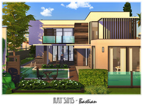 Sims 4 — Bastian by Ray_Sims — This house fully furnished and decorated, without custom content. This house has 2 bedroom