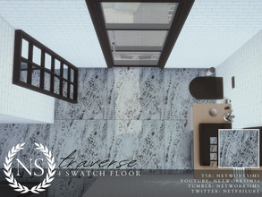 Sims 4 — Traverse Marble Floor - Networksims by networksims — A tiled marble floor in 4 colour swatches.