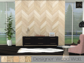 Sims 4 — TX - Designer Wood Wall by theeaax — Designer Wood Wall 5 Different wood swatches Gives your home a cool