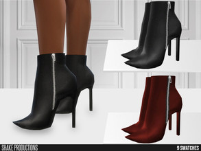 Sims 4 — ShakeProductions 659 - High Heel Boots by ShakeProductions — Shoes/High Heel-Boots New Mesh All LODs Handpainted