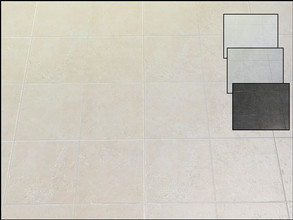 Sims 4 — Modern Interiors Ceramic Floor Tile by seimar8 — Ceramic floor tile. Comes in four swatch patterns. Part of