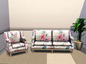 Sims 3 — Dated Flowers by Canterville032 — This pattern is really beautiful and goes well in lounge rooms, dining rooms