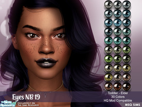 Sims 4 — Eyes NB19 by MSQSIMS — - All Genders - All Ages - 30 Colors - Facepaint Category - Custom Thumbnail - HQ Mod