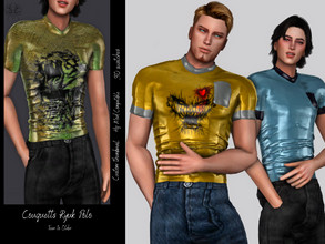 Sims 4 — Couquetts Ryuk Polo by couquett — Hi Guys This for yoyr male sims, I really hoppe that you like it and enjoy it