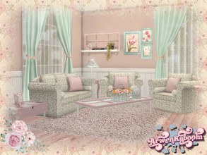 Sims 4 — S. H. Abby Livingroom by ArwenKaboom — Hellooo Simmers! This set is a bit different from the rest of my