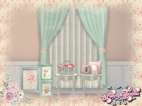 Sims 4 — S. H. Abby Deco by ArwenKaboom — This is a deco part of my shabby chic set. You can find all items by searching