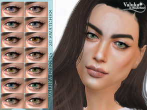 Sims 4 — Valuka eyes N5 by Valuka — Costume make up category 30 colours All genders and ages Thumbnail for identification