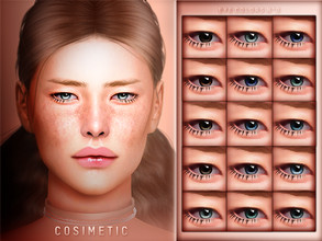 Sims 4 — COSIMETIC | Eyecolors N9 by cosimetic — - All genders and from teen to elder. - Contains [ 15 ] colors in HQ