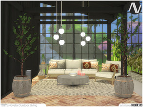 Sims 4 — Novella Outdoor Living by ArtVitalex — Outdoor And Garden Collection | All rights reserved | Belong to 2021