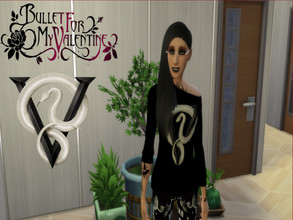 Sims 4 — Bullet for my Valentine Female Sweater Venom by ditti309 — This is my first try making BFMV Merch ^^ i hope you