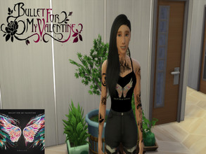 Sims 4 — Bullet for my Valentine Female Tank Top Gravity by ditti309 — This is my first try making BFMV Merch ^^ i hope