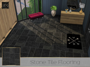 Sims 4 — TX - Stone Tile Flooring by theeaax — Stone Tile Flooring 4 Color Swatches Suitable for indoor and outdoor use!