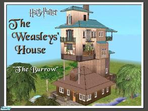 Sims 2 — Harry Potter: The Weasleys' House by Tiko —