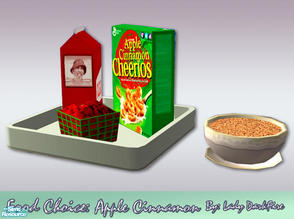 Sims 2 — Food Choice: Apple Cinnamon Cheerios by Lady Darkfire — Start your Sims day in a special way! Here's one