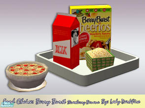 Sims 2 — Food Choice: BB Strawberry Banana by Lady Darkfire — A heart-healthy lifestyle has come home for our Simmies!