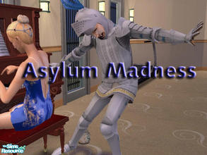 Sims 2 — Asylum Madness by Vlana — Instead of writing a story with the asylum challenge I'm doing, I decided to do a