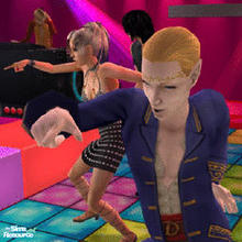 "Sims 2 — Let's Party ! by Vlana — A one minute film of a sim party ! Put this file in the ""TvMusic"" folder of"