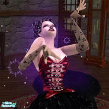 Sims 2 — Rookie Vampire by Vlana — A film made by sims for the sims (ie can be viewed inside the game). This is a short