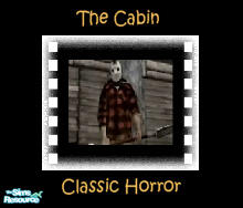 "Sims 2 — ""The Cabin"" Movie by debbyj3 — Can she get away? This film will have your Sims looking over their"