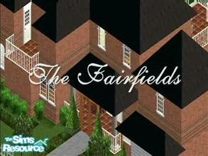 Sims 2 — The Fairfields Sims TV show 1 by venusdemilo — This television show is intended for placement in the Sims