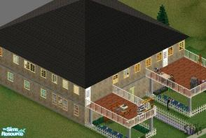 Sims 1 — Ruger Castle House by duton1 — This is my first online house so yea the readme is in there and more then 2 pics