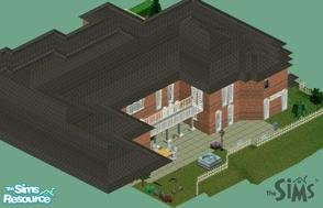 Sims 1 — louciphers monstrosity by loucipher7 — Huge house with many rooms 14 bedrooms, 10 bathrooms 26,964 sq feet 2