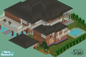 Sims 1 — louciphers luxurian by loucipher7 — Large house with 2 bedrooms 7 baths. 15,066 sq feet $$253,000 fully